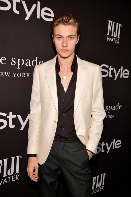 Lucky Blue Smith Hace Suyo El Look A Blanco Y Negro Para Los Instyle Awards 2
