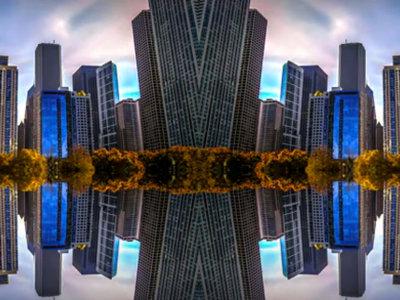 El Chicago más caleidoscópico a través de un timelapse diferente