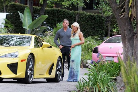 Paris Hilton Lexus LFA