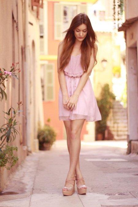 Vestido romántico Annouska
