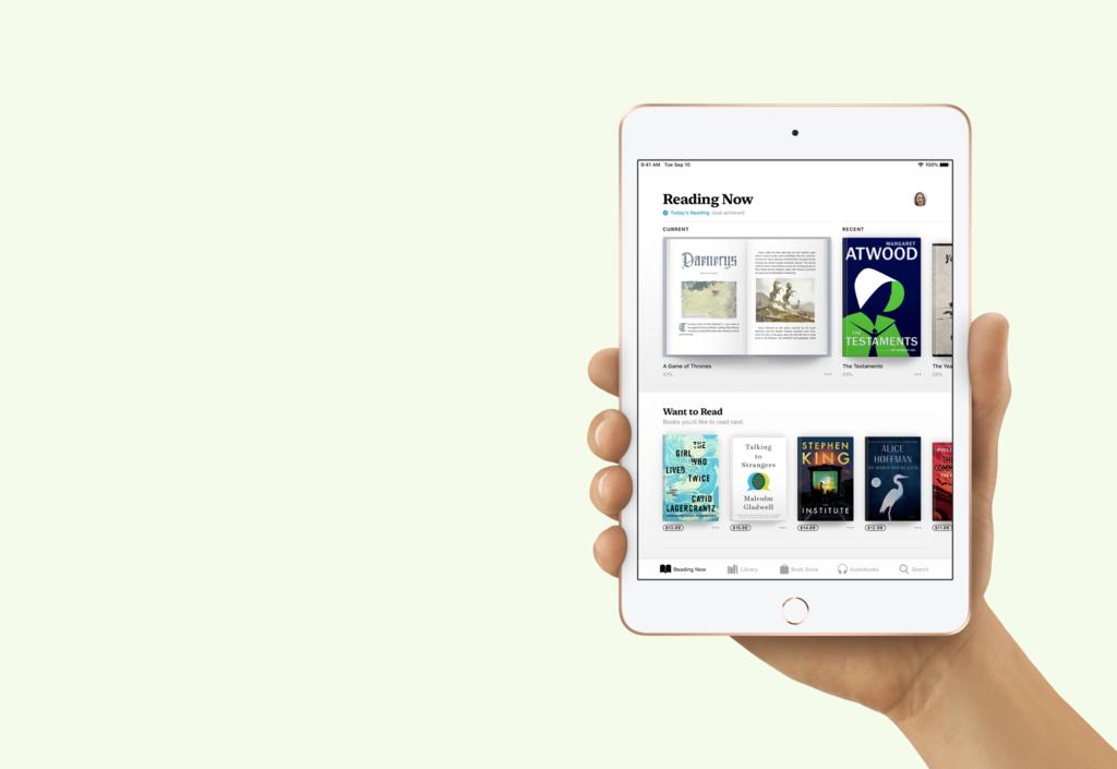 Qué piensas del tamaño de pantalla del iPad mini, esto está preguntando Apple a los usuarios del iPad más pequeño a la venta