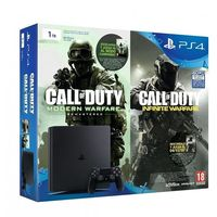 Pack PS4 Slim de 1Tb + CoD: Modern Warfare Remastered + CoD: Infinite Warfare