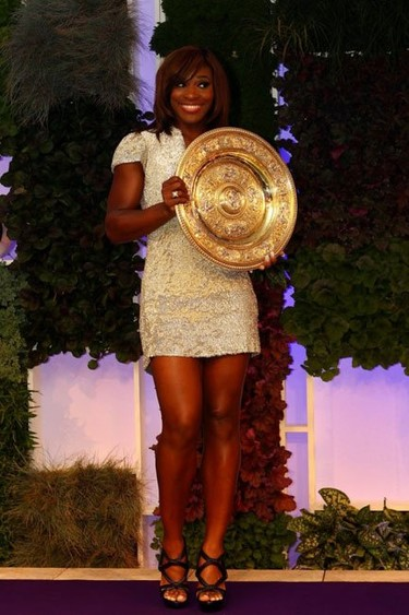 Guapísima, Serena Williams de Burberry