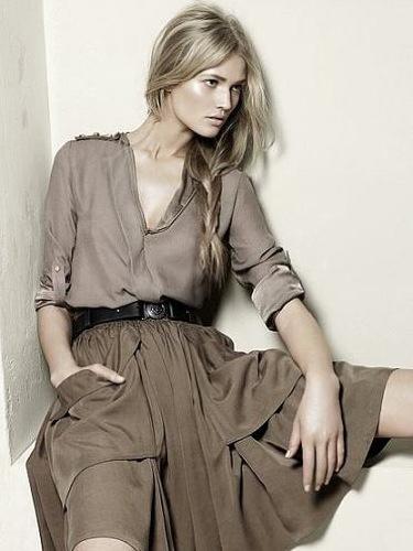 Zara, Primavera-Verano 2010: falda