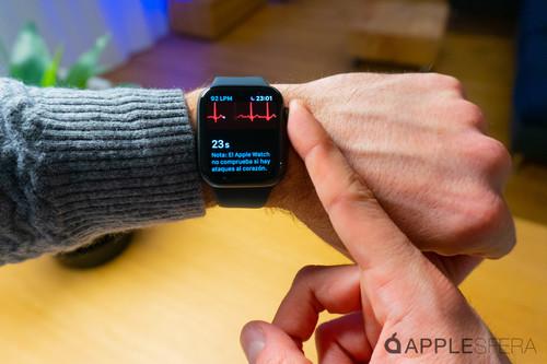 Apple activa el electrocardiograma en el Apple Watch Series 4 y ya lo hemos probado: esto es todo lo que necesitas saber