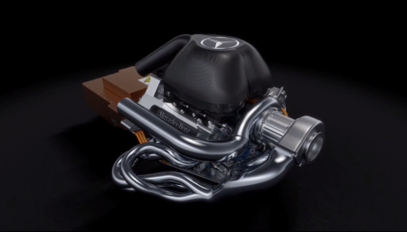 Motor Mercedes F1 3d