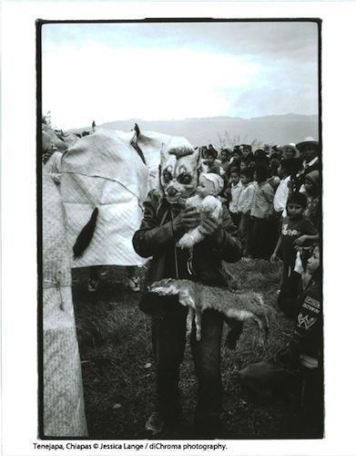 Tenejapa, Chiapas por Jessica Lange