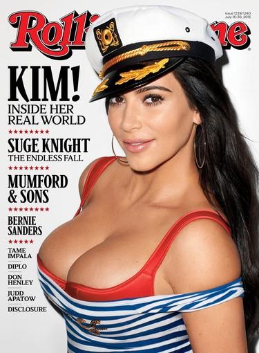 Kim Kardashian o las gracias de una marinera en portada de la revista Rolling Stone