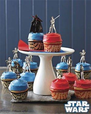 Moldes de Star Wars para muffins