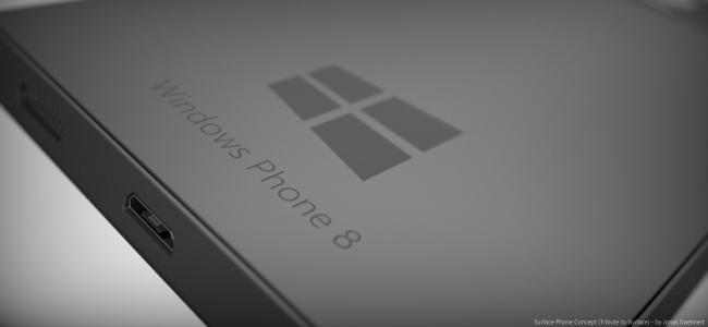 Concept Surface Phone by Jonas Daehnert