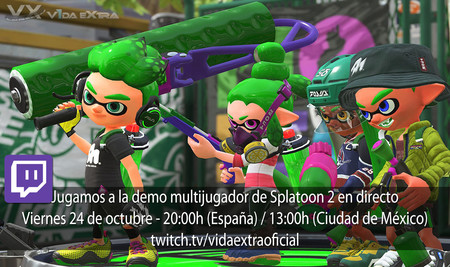 Streaming de Splatoon 2 a las 20:00h (las 13:00h en Ciudad de México) [finalizado]