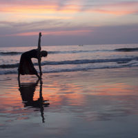 Especial novias: ejercicios relajantes de Yoga