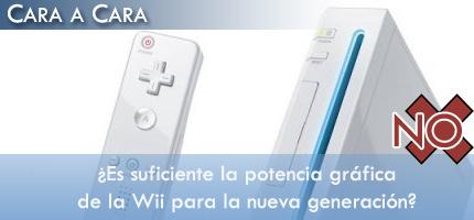 En contra: ¿Es la potencia gráfica de Wii suficiente para la nueva generación?