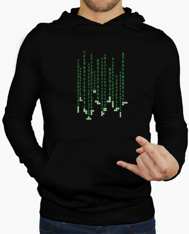 Sudadera Tetris
