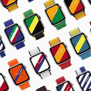 Una edición especial de correas con banderas de 22 países, incluido España. Así celebra Apple los Juegos Olímpicos de Tokio