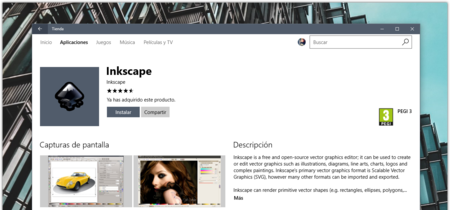 Inkscape y Krita llegan a la Tienda de Windows, dos de los editores de gráficos open source más completos