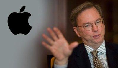 Eric Schmidt de Google asegura que Apple está celosa y carece de innovación