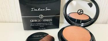 En busca de los mejores polvos de sol: probamos Italian Sun de Giorgio Armani, con efecto iluminador
