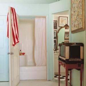 Una bañera en el armario