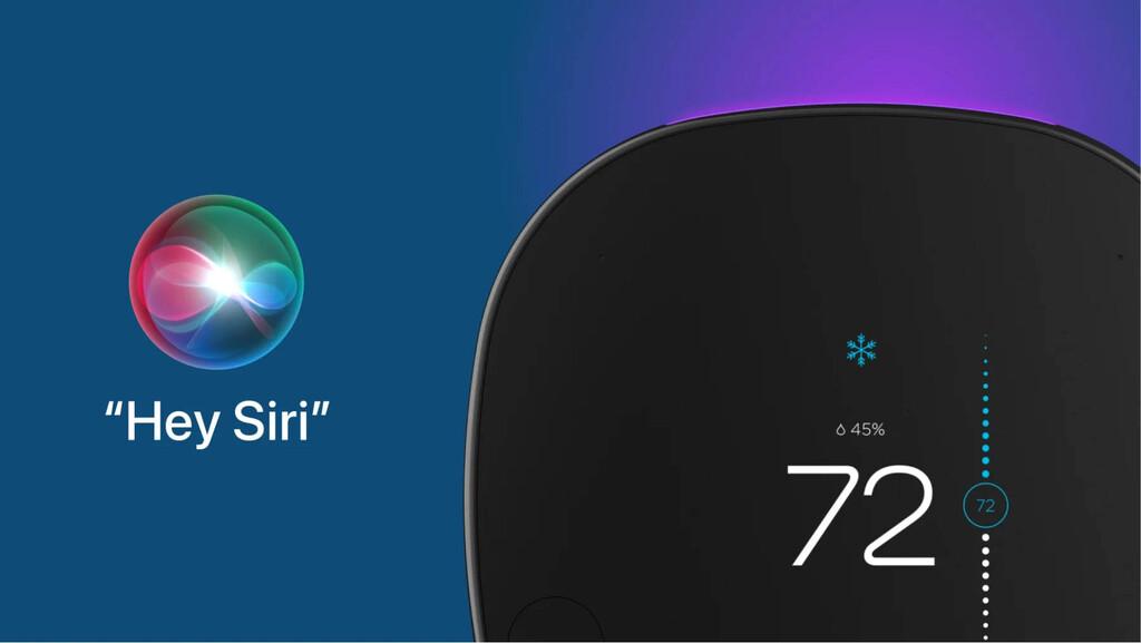 Ecobee actualiza su termostato inteligente y ya permite el control por voz por medio de Siri
