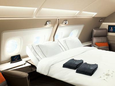 Lujo en el aire: Singapore Airlines incluye una suite en su nuevo avión
