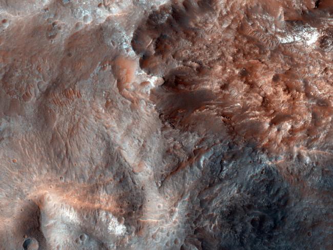 Estructura Central De Un Crater De Impacto