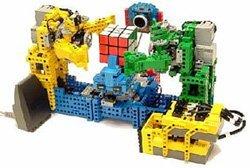Robot para resolver el cubo de Rubik