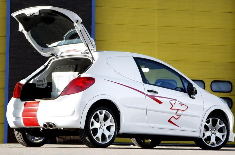 Foto de Accesorios deportivos para el Peugeot 207 versión comercial (1/4)