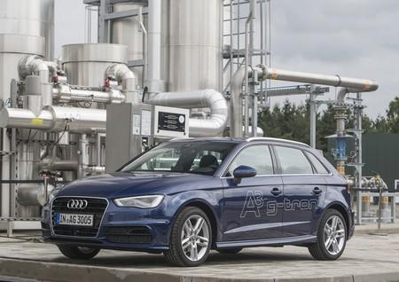Audi A3 G-tron y planta e-gas
