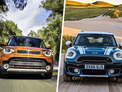 MINI Countryman S vs. KIA Soul SX: analizamos a los GTI que quieren ser SUV... ¿o al revés?