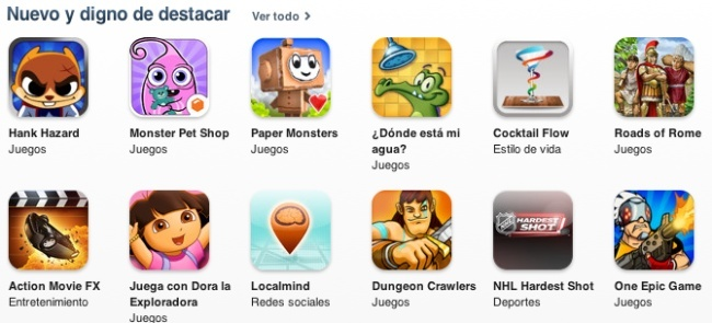 aplicaciones app store apple ios