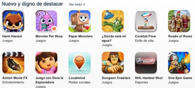 aplicaciones app store apple ios