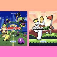 Stickman Golf 3+, Super Leap Day y más hits llegarán pronto a Apple Arcade
