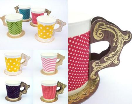 Pop Cup Holder, color y estilo para los vasos plásticos