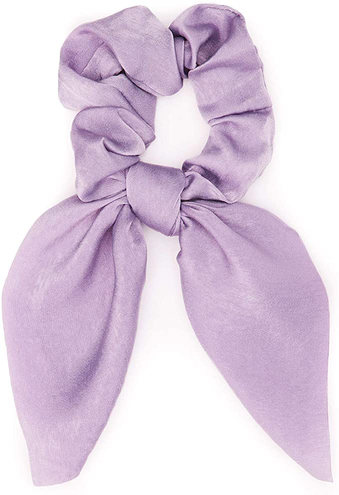Coletero en forma de pañuelo lila