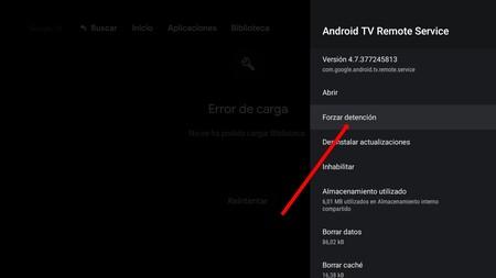 Cerrar Aplicaciones Android Tv