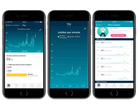 Fitbit App Ritmo Cardiaco
