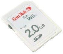 SanDisk y sus tarjetas SD para Wii
