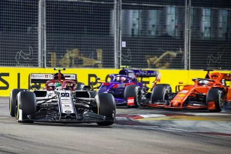 Giovinazzi Singapur F1 2019