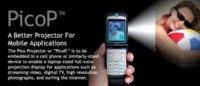 PicoP, proyector integrado en el móvil