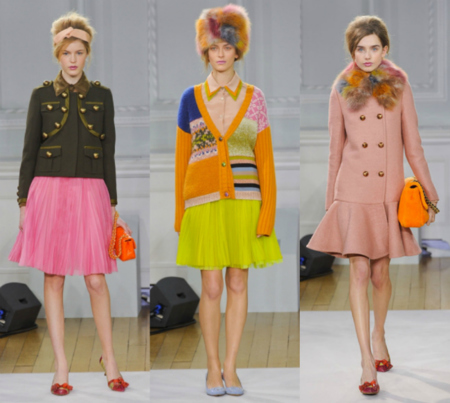 moschino cheap chic otoño 2012