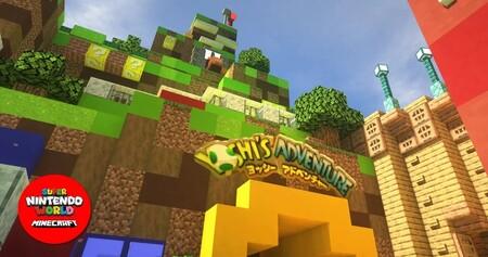 Super Nintendo World Minecraft 02