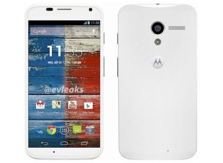 Motorola Moto X en imágenes oficiales