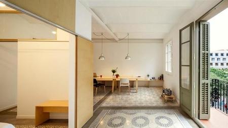 Un apartamento de los años 30 totalmente renovado en Barcelona