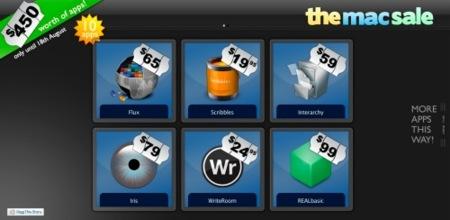 The Mac Sale: 10 buenas aplicaciones para Mac valoradas en 450$, por 49.99$