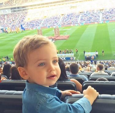 De la guapura de Martín Casillas al chupete de Harper Seven y la nena de Karim Benzema