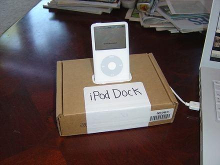 Hazte tu propia dock para el iPod