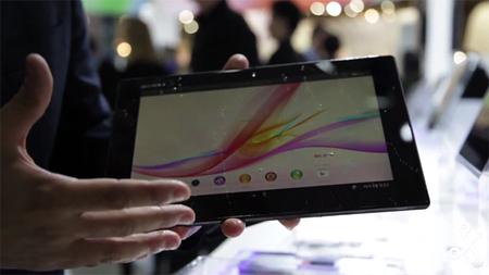 Sony Xperia Tablet Z, primera toma en contacto