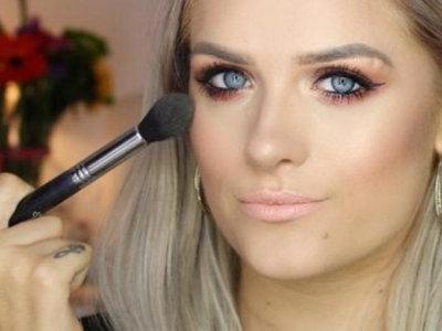 Jordan Bone: la inspiradora blogger de belleza que hace tutoriales a pesar de su problema físico