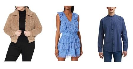 Chollos en tallas sueltas de camisetas, vestidos, chaquetas o pantalones Superdry, Pepe Jeans o Esprit en Amazon